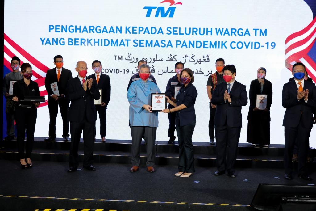 TM R&D receives Certificate of Appreciation