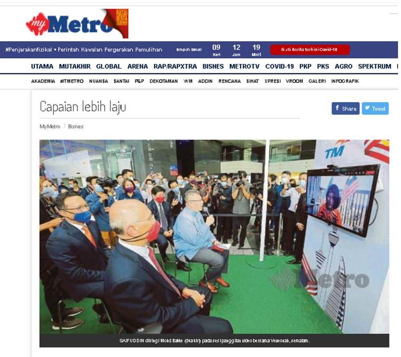 Fast Internet for Rural Area (FIRA) featured in Harian Metro!