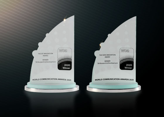 Winning Streak at the World Communication Awards 2020