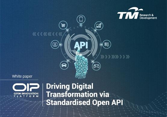 OIP - Driving Digital Transformation via Standardised Open API